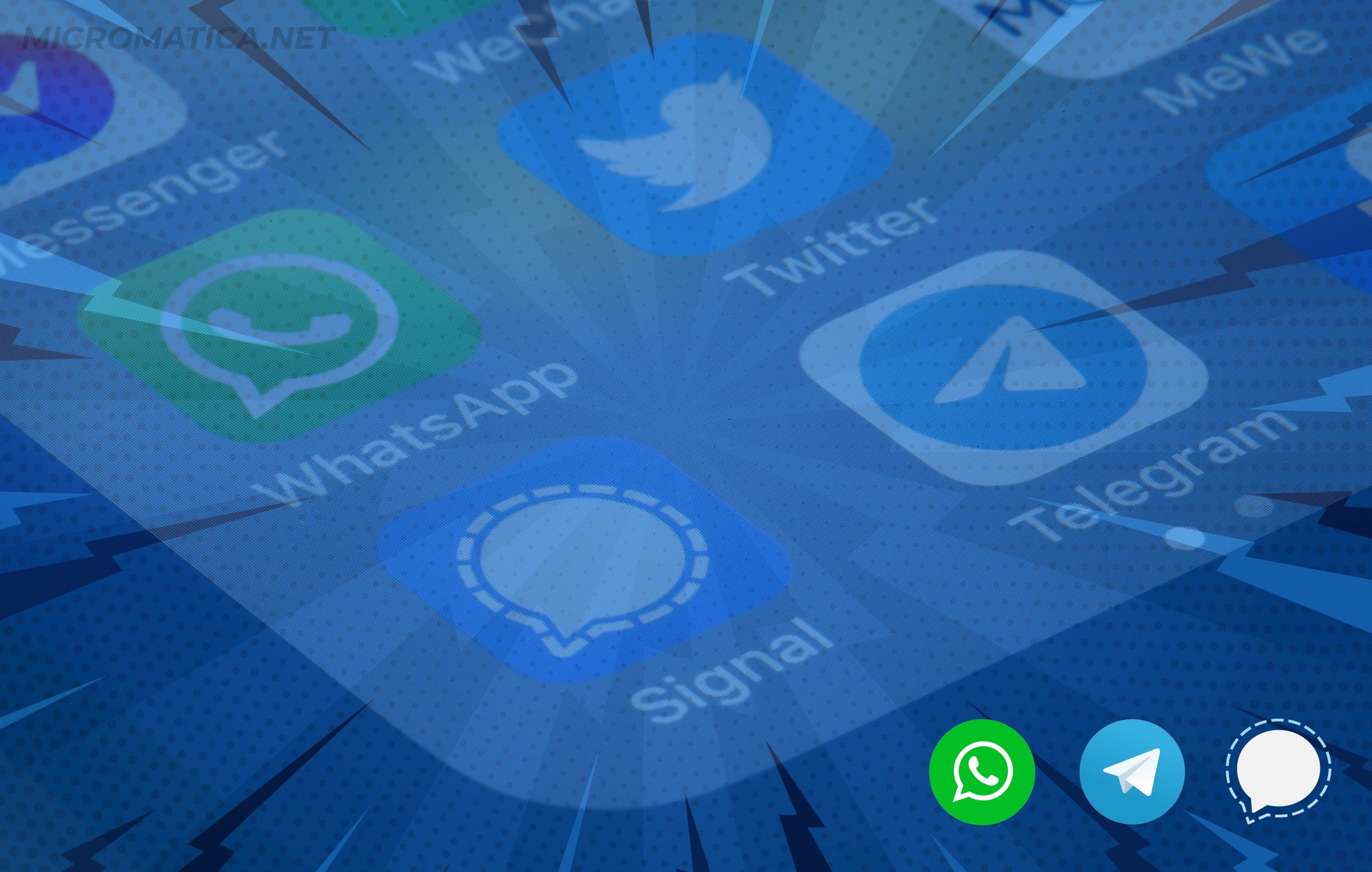 Whatsapp Signal Telegram